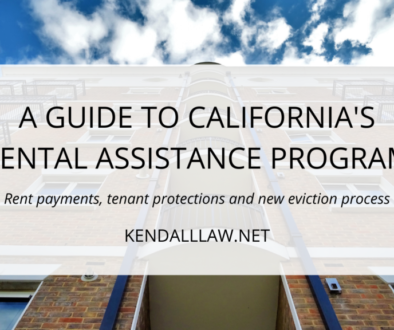 Kendall Law California Rental Assistance